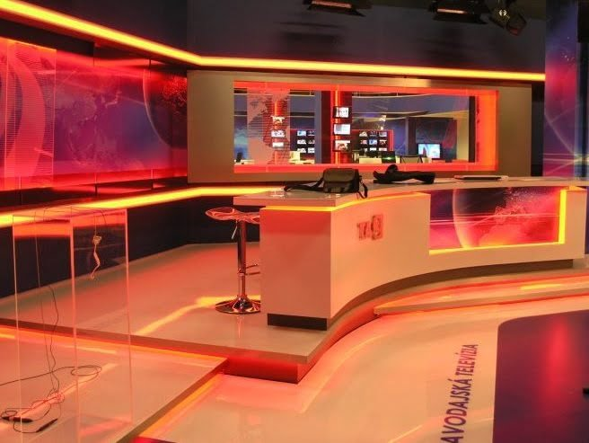 TA3 TV Studio LED Installation by Showtacle