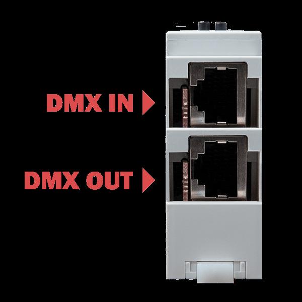 SPI_LED_controller-DMX